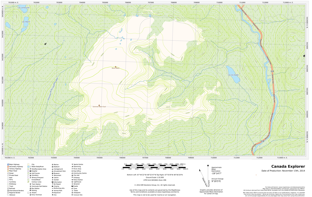 Topographic Maps - Outdoor Recreation - Maps on Demand