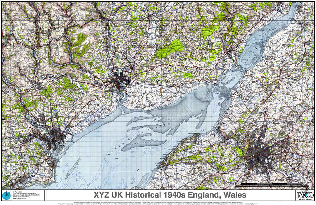 XYZ UK Historical 1940s England, Wales