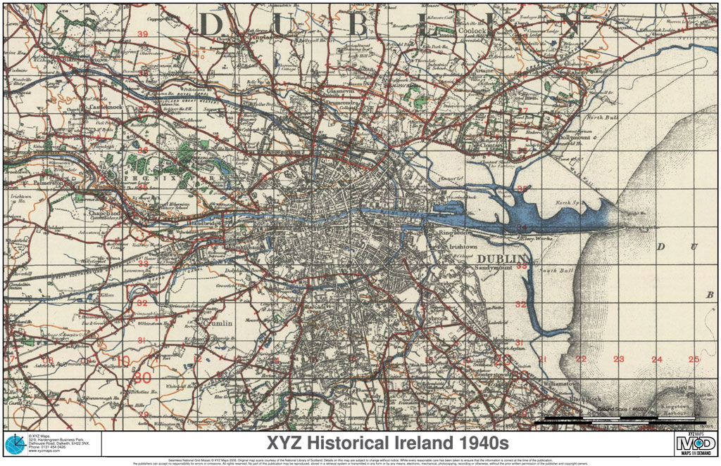 XYZ Historical Ireland 1940s