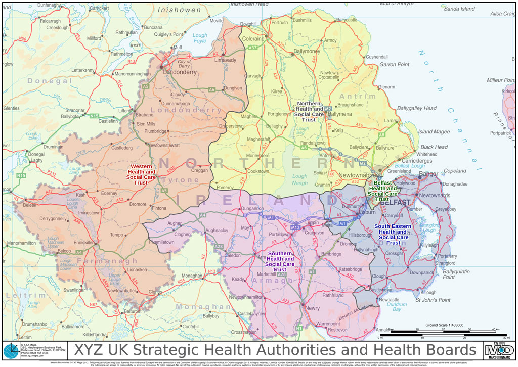 XYZ UK Strategic Health Authorities and Health Boards