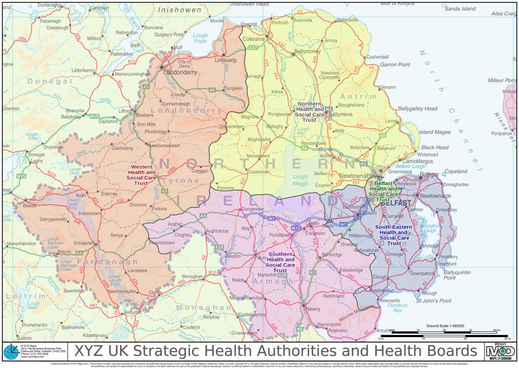 XYZ UK Strategic Health Authorities and Health Boards