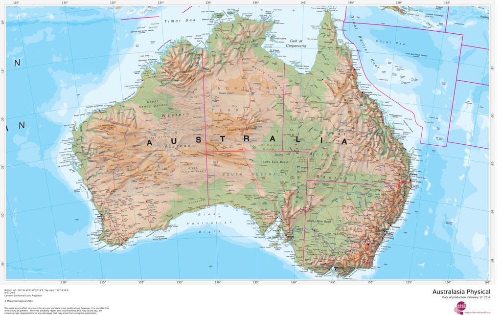 Australasia Physical