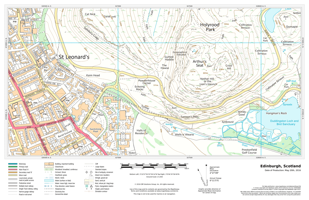 uk detailed topographic